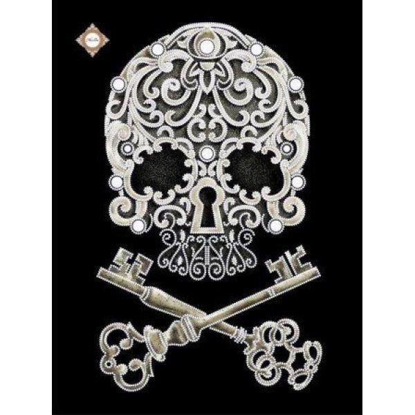 СЛ-3309 Магические ключи бессмертия. Схема для частичной вышивки бисером. ТМ Миледи, Украина