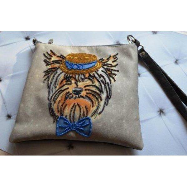 КС-007 Фокусник Викки. Пошитый клатч для вышивки бисером и декоративными элементами. ТМ Миледи, Украина