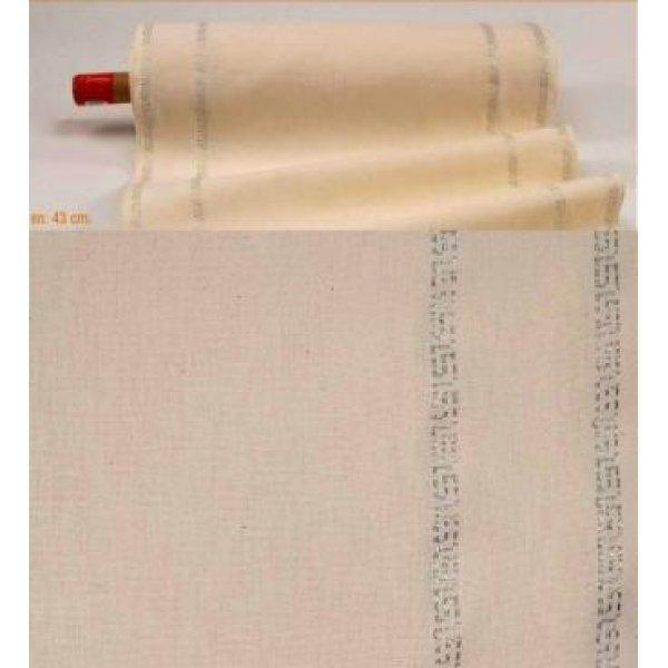 NK08010 Ткань для вышивания рушников Antik Infinitive Silver 29ct (шир.45см). Anchor.Равномерная ткань.метраж