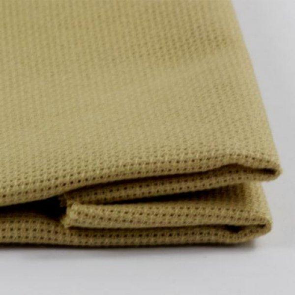ТВШ-38-1 1/38 Ткань для вышивки Аида16ct (горчичный) 50х50см. Коломийські тканини.Канва для вышивки