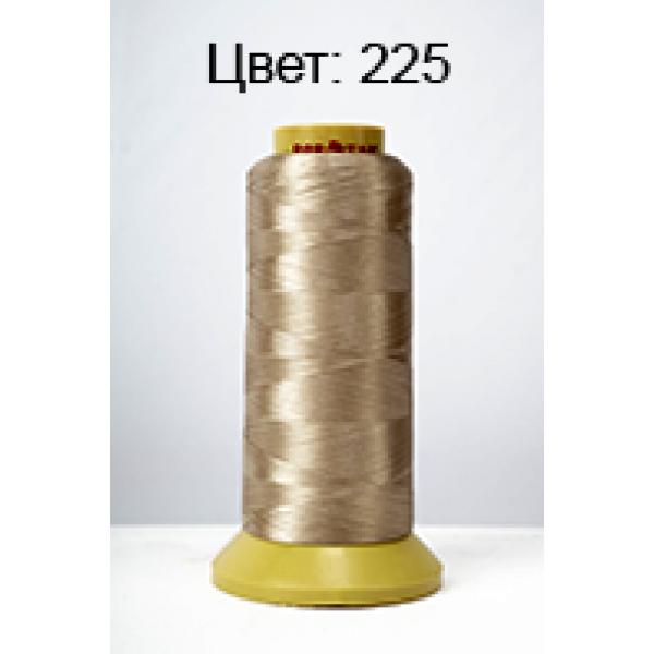 225 Нить бисерная промышленная намотка (бронзовый) 3000Y 120D/2.Dor Tak