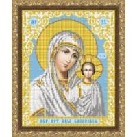 VIA4201 Пресвятая Богородица Казанская. ТМ ArtSolo (Арт Соло). Схема для частичной вышивки бисером